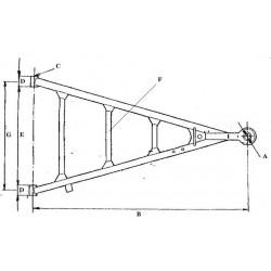 ojo ťažné PV-40/40/920
