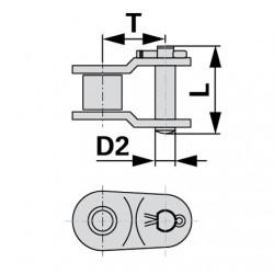 Polospojka 12B-1 3/4x29/64