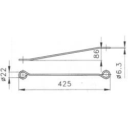 Vzpera OS3 425mm