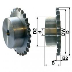 Reťazové koleso 8 zubové 10B-1