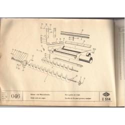 šnek na zrno a klásky E514