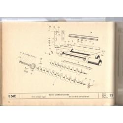 šnek na zrno a klásky E512