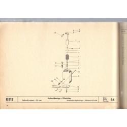 nádrž hydrauliky-filter E512