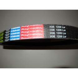 klinový remeň H36x1206Lw