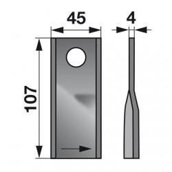 nož KUHN 410410 ľavý